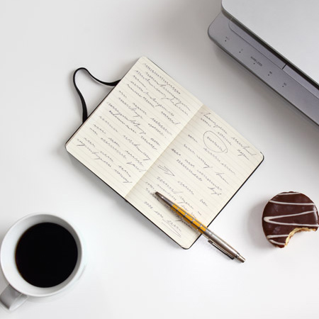 tekstschrijver-werkplek
